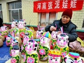拴娃娃(中国北方民俗)