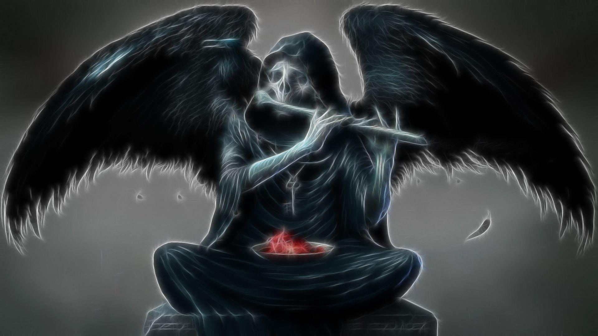 死神天使桌面都是大图,直接右键另存为。