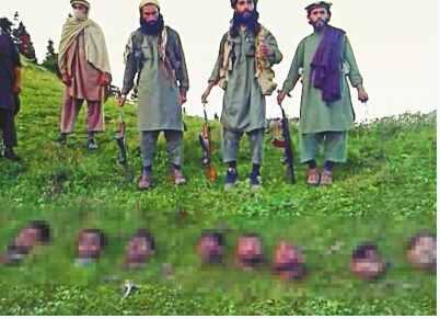 塔利班割头现场 堪称人类历史上最残忍画面