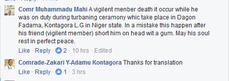 治安官成员在尼日尔州枪杀他的同事(照片)-犯罪- Nairaland