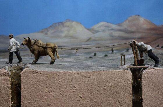 新疆坎儿井的起源之谜,吐鲁番的井总数竟达1100多条