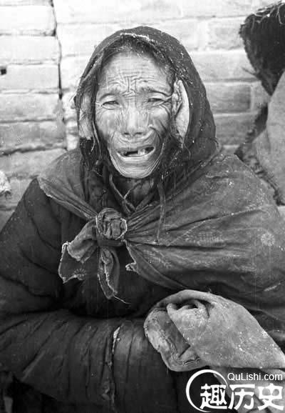 1942年大饥荒真实照片 触目惊心到让人脊梁发麻