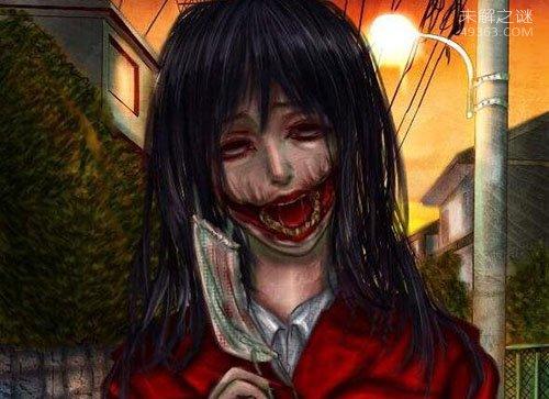日本专吃小孩的八尺大人,一个身高八尺的恐怖女人
