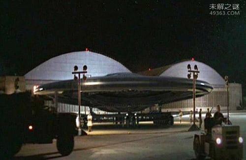 """神秘飞行器""""曙光女神""""是美国与外星人合造?"""