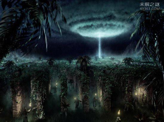 """恐怖""""吸血""""的致命光束:是外星人正在做实验?"""
