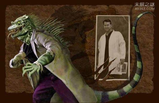 十大谜团之十,沼泽地里的蜥蜴人