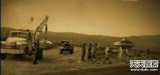 ufo着陆地球 美军士兵亲眼所见