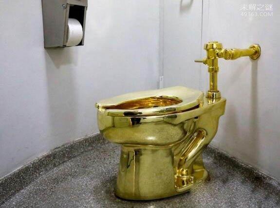 世界上最贵5个马桶,黄金马桶250万美元(免费使用)
