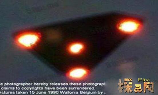 比利时UFO事件是真的么,无法解释科学场景(来无影去无踪)