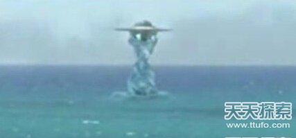 UFO造访美国:水下竟然藏匿外星人基地
