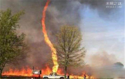 世界五大火焰龙卷风:1987美国火焰龙卷风至千人伤亡