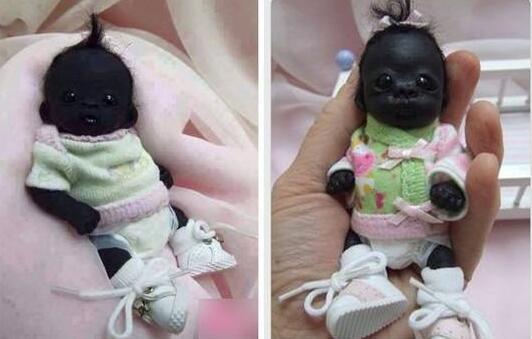 世界上最黑的男孩和世界上最白的女孩(都是真的)