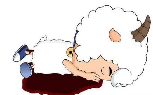 揭秘童年动画喜羊羊灵异事件,喜洋洋最终难逃灰太狼毒手(谣言)