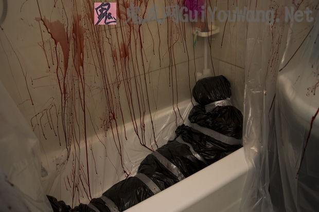 很难得搜集到的一些犯罪现场照片,太血腥慎入!