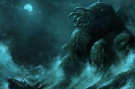 克苏鲁神话怪物,真实存在的终极巨兽
