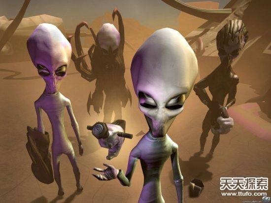 外星人五大惊人假想:会不会与人交配