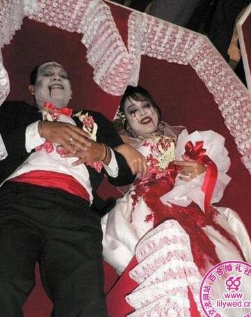 梦见与鬼结婚