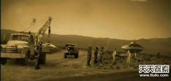 揭秘51区秘密基地 外星人真的存在么