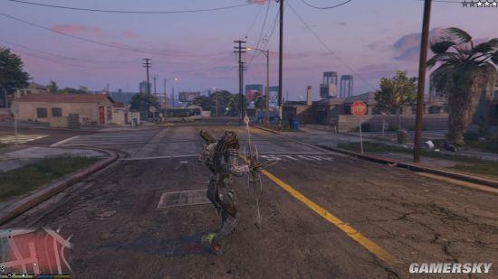 《GTA5》铁血战士MOD发布 外星黑科技加持战斗无敌