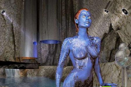 外星人是蓝皮肤?美国女孩被威胁生下蓝婴