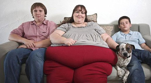 全球最胖的女人,苏珊娜・埃曼和罗莎莉・布拉德福德(两人重达253