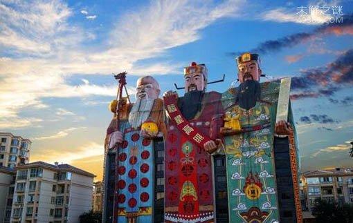 福禄寿大楼:夜里看见庞然大物有点儿恐怖(入选吉尼斯记录)