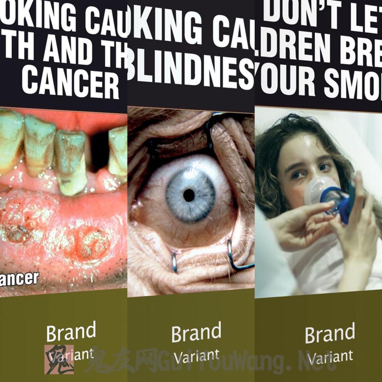 世界各地的香烟盒上面的吓人图片