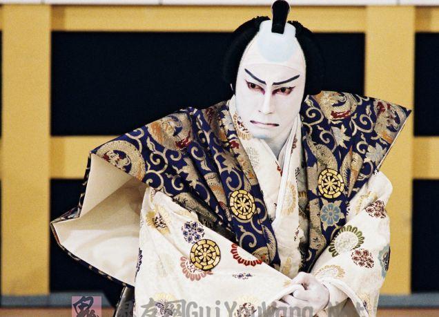 有些诡异的日本歌舞伎素材大图桌面