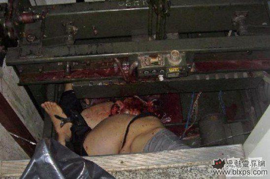 女子下半身被电梯压至粉碎 胆小者慎入
