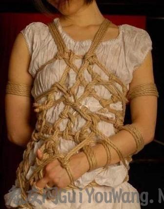 SM里的绳缚的艺术