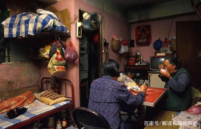香港九龙城寨老照片