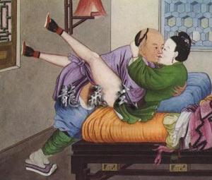 古代的交欢姿势